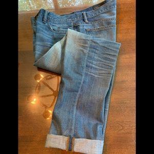 J Crew Slim Broken In Boyfriend Jeans S 28